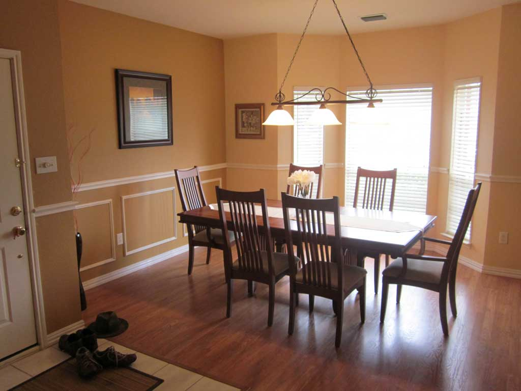 Relatively Dining Room In Front Of House
