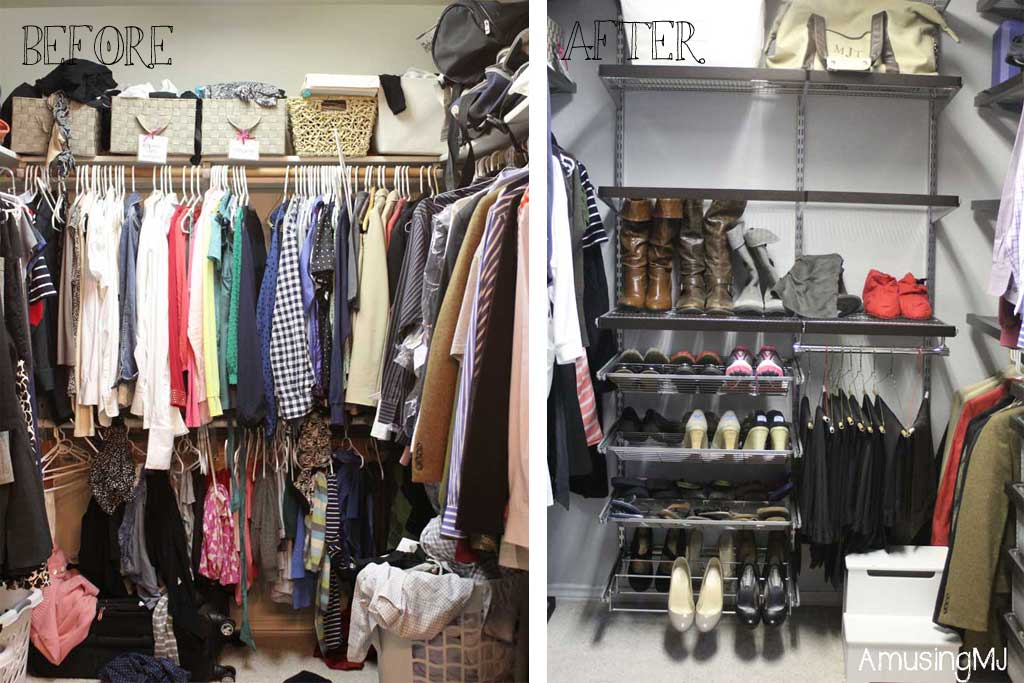 MJcloset Before And After