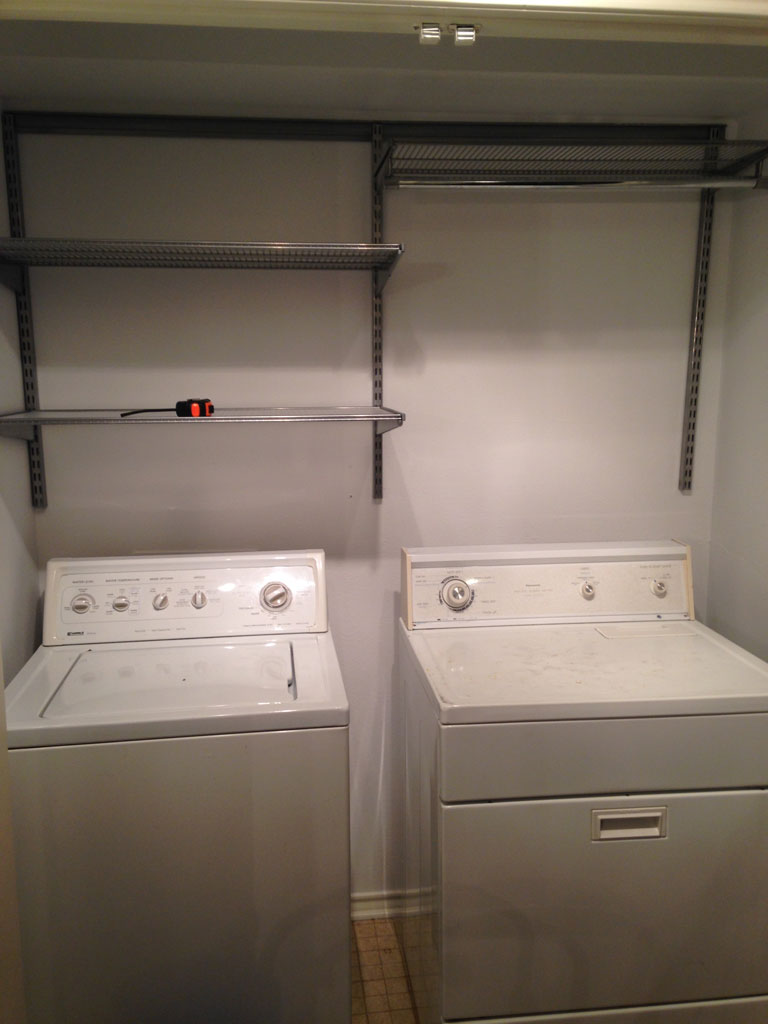 Quick Laundry Room Re Do