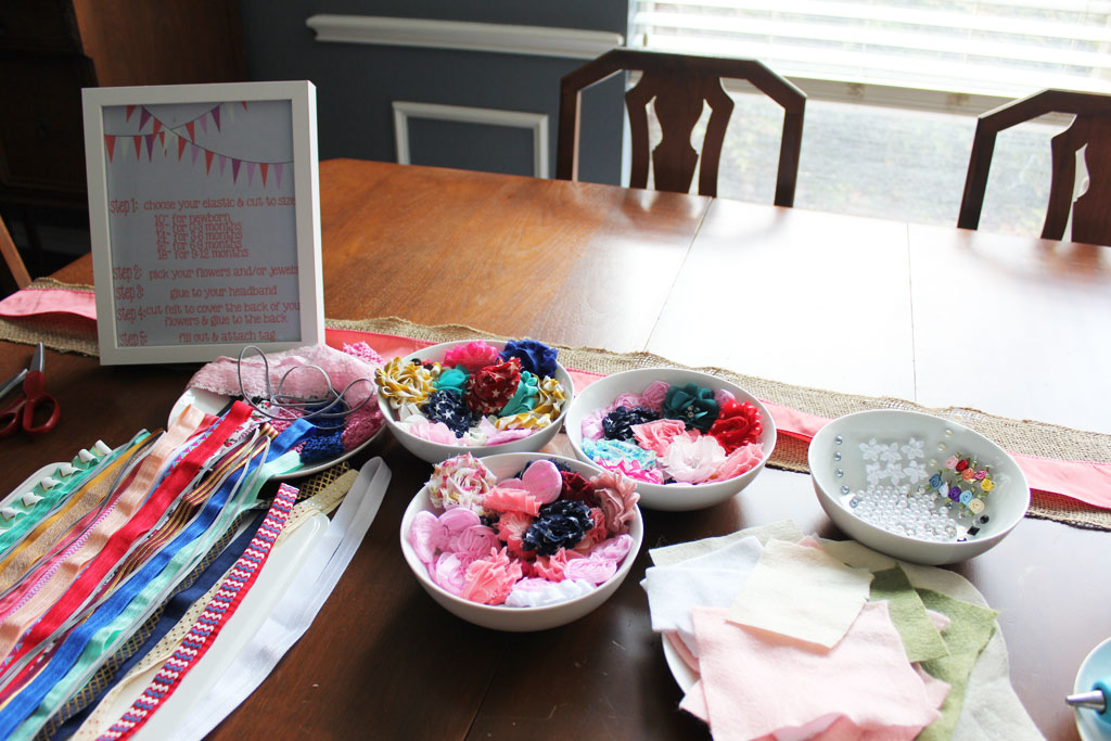 DIY Headband Station | www.amusingmj.com
