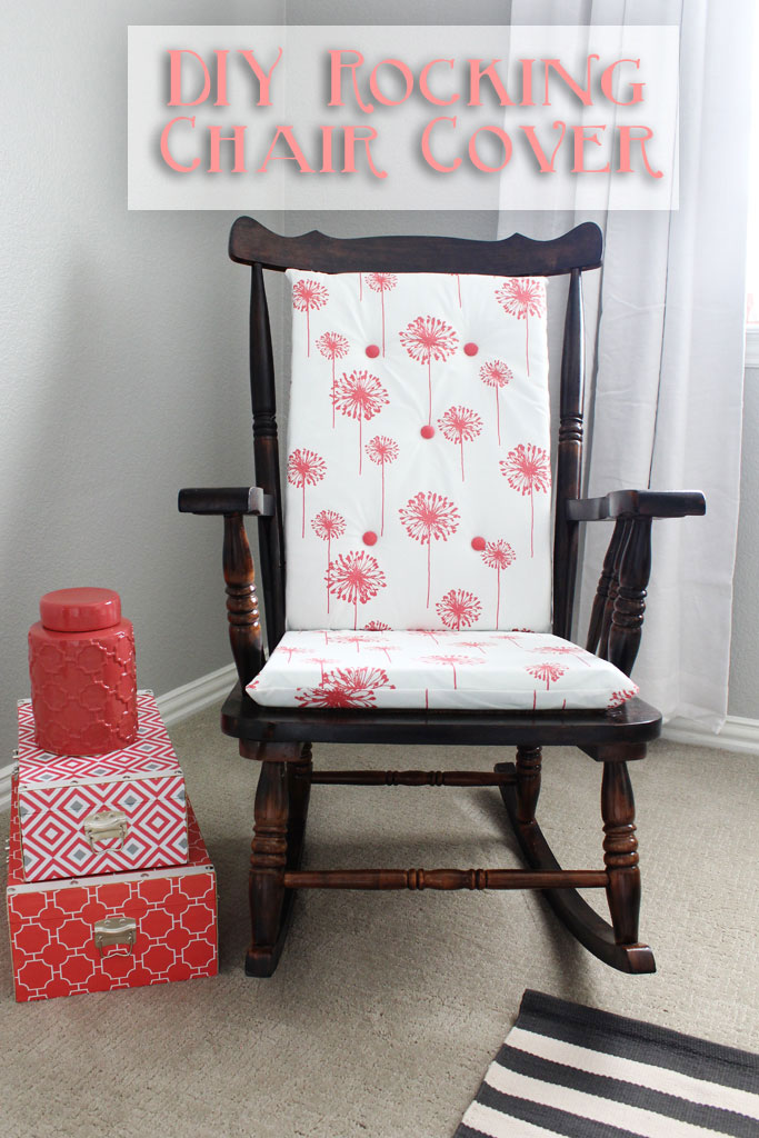 Make your own rocking chair cushions! | www.amusingmj.com