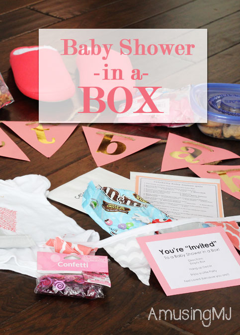 Baby Shower in a Box! | www.amusingmj.com