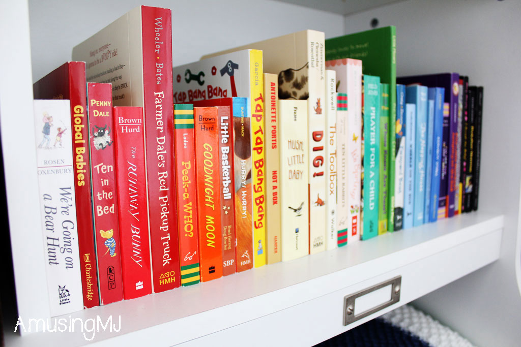 Board Book Library | www.amusingmj.com