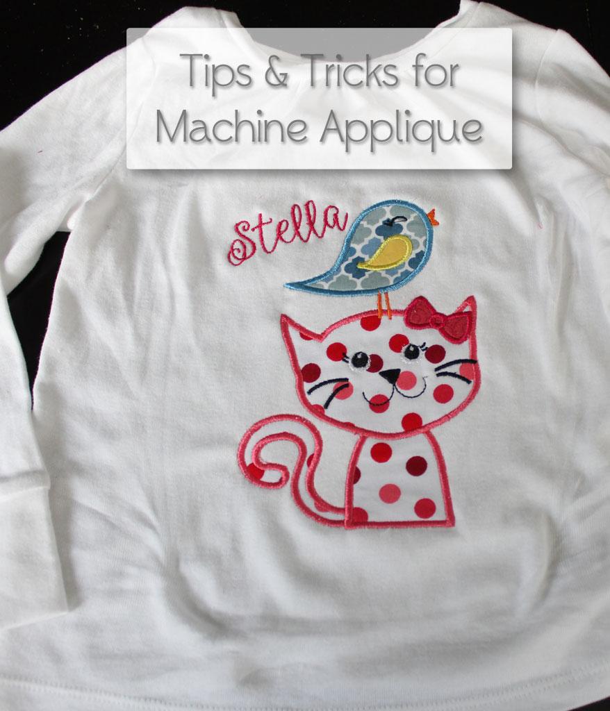 Tips & Tricks for Machine Applique | www.amusingmj.com