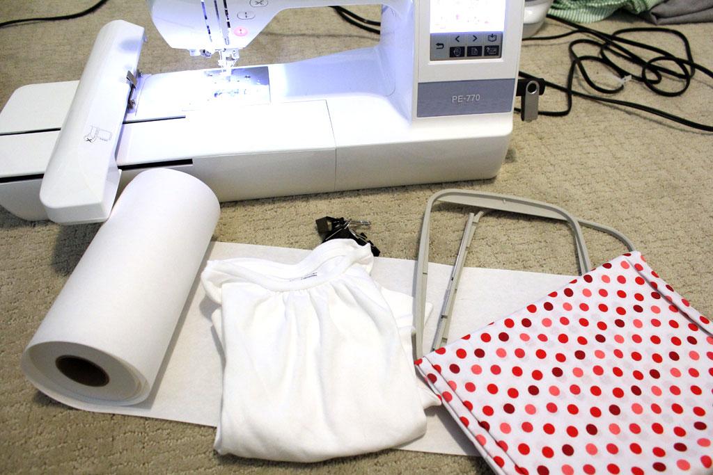 How to Machine Applique | www.amusingmj.com