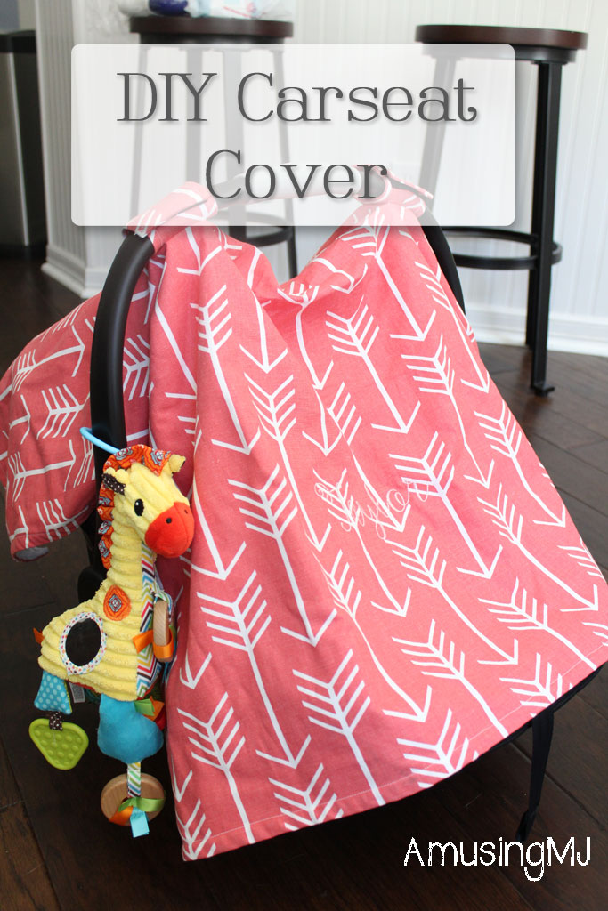 DIY Car Seat Cover |www.amusingmj.com