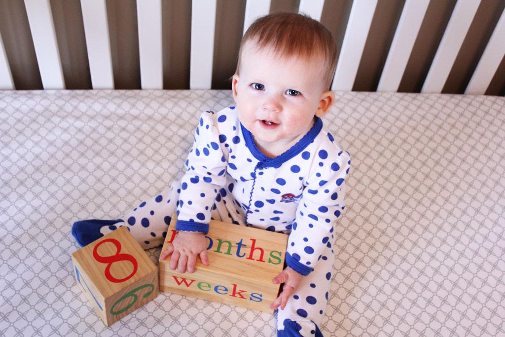 8 Months old | www.amusingmj.com