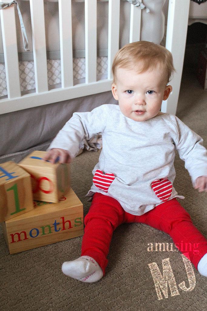 Taylor 10 Months | www.amusingmj.com